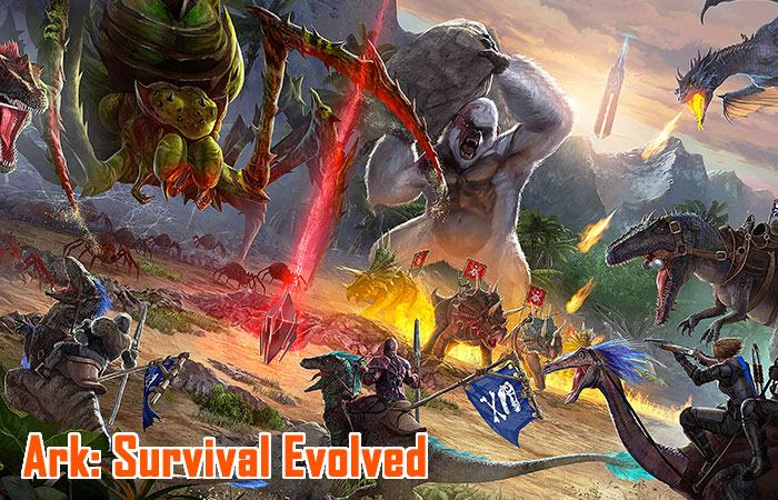 Ark: Survival Evolved game sinh tồn trên pc