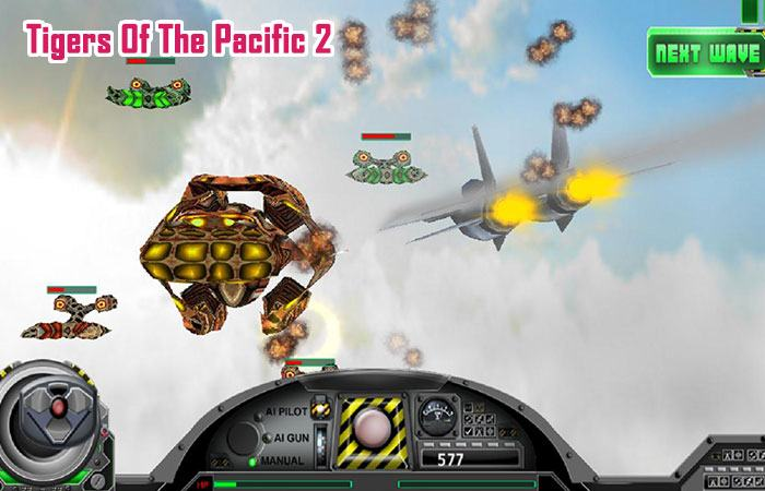 Game Mobile bắn máy bay offline Tigers Of The Pacific 2