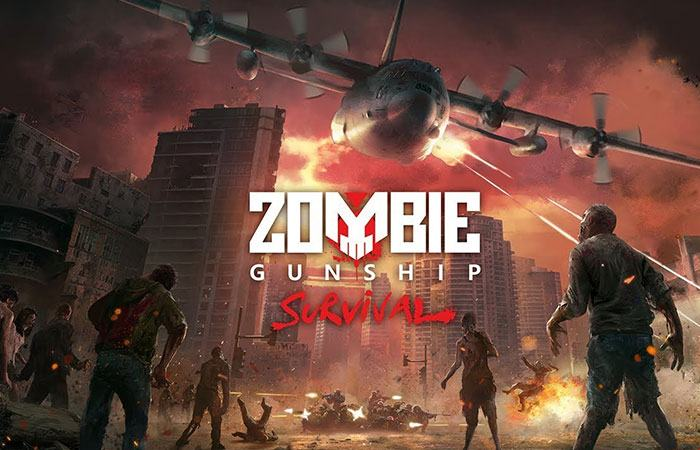 Poster game Zombie Gunship Survival
