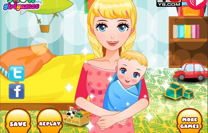 Chơi game Y8 Princess Newborn Baby