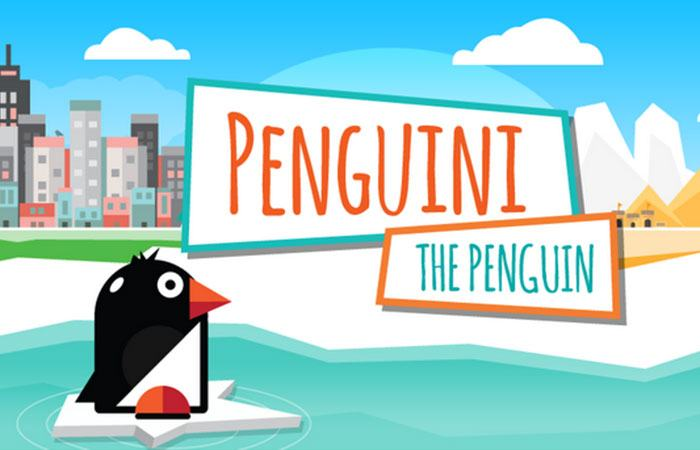 Game cho chim cánh cụt ăn game Feed the penguin