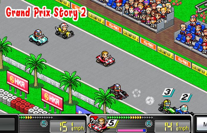 Game đua xe hay cho android Grand Prix Story 2