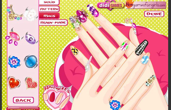 Game làm móng Beauty Nail Girl