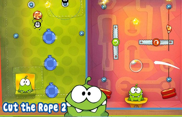Game online cho trẻ em Cut the Rope 2
