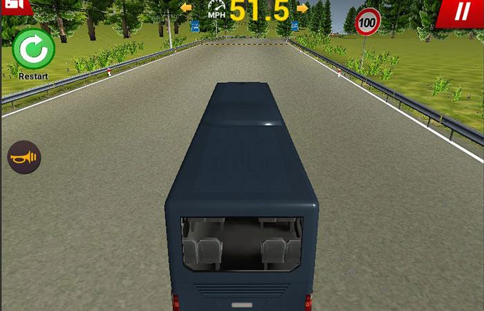 Game y8 lái xe buýt Uphill Bus Simulator 3D