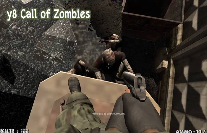 game y8 bắn súng zombie Call of Zombies
