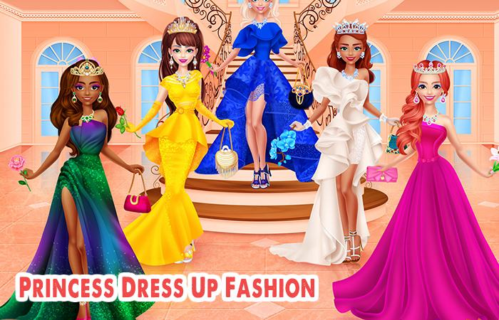 Game chọn đầm cho công chúa Princess Dress Up Fashion